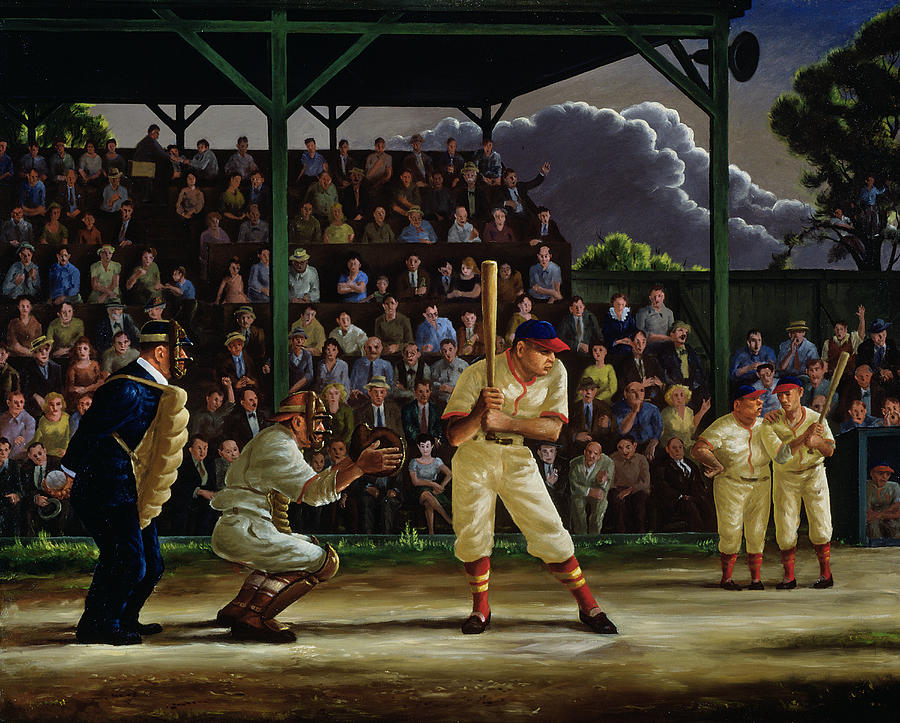 Minor League Painting  - Minor League Fine Art Print