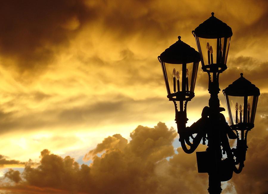 Mirage Night Sky Photograph