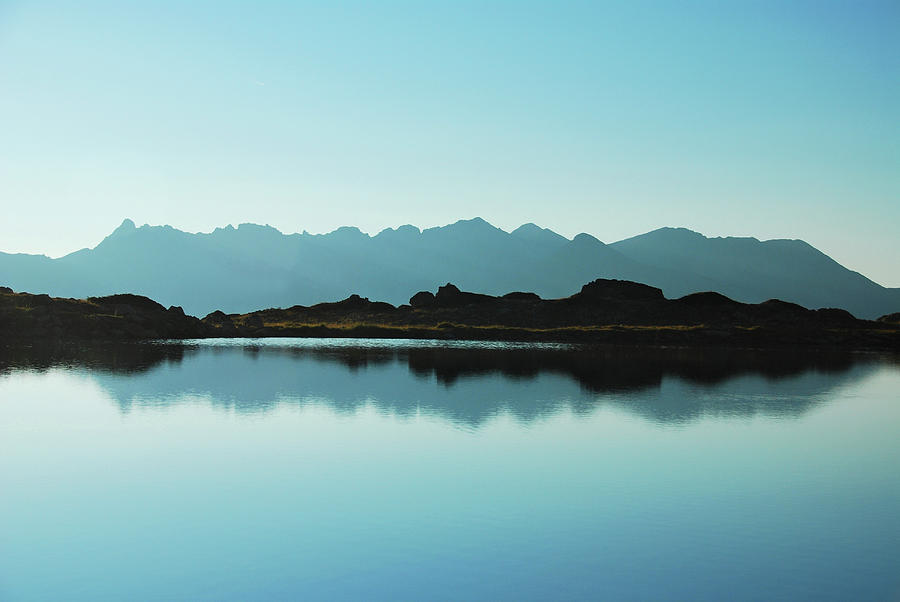 Mirror Mountain Lake Photograph  - Mirror Mountain Lake Fine Art Print