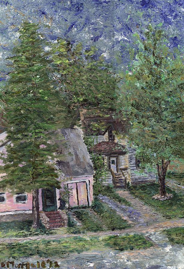 Summerhome Painting - Misfit Summerhome by Denny Morreale