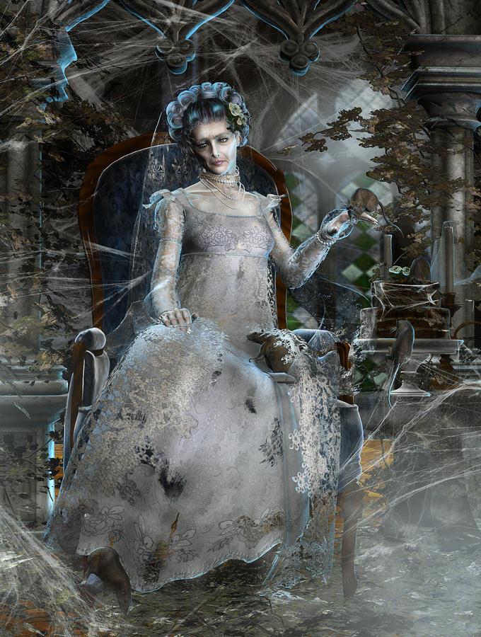 Miss. Havisham Digital Art