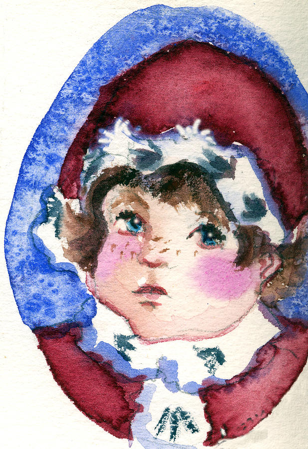 Miss Sugar Plum Painting  - Miss Sugar Plum Fine Art Print
