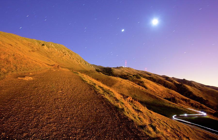 Mission Peak At Dawn Photograph