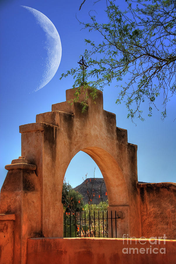 Mission San Xavier Del Bac Photograph