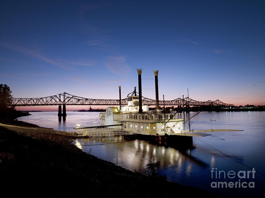 Mississippi River, 2008 Photograph  - Mississippi River, 2008 Fine Art Print
