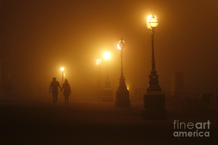Misty Walk Photograph  - Misty Walk Fine Art Print