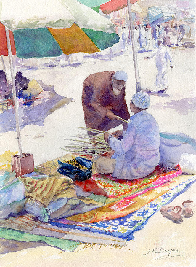 Miswak seller jeddah by dorothy boyer for Art cuisine jeddah