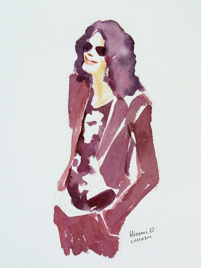 Mj 2009 Painting  - Mj 2009 Fine Art Print