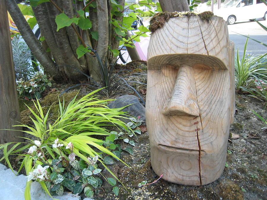 Moai Garden Sculpture Sculpture