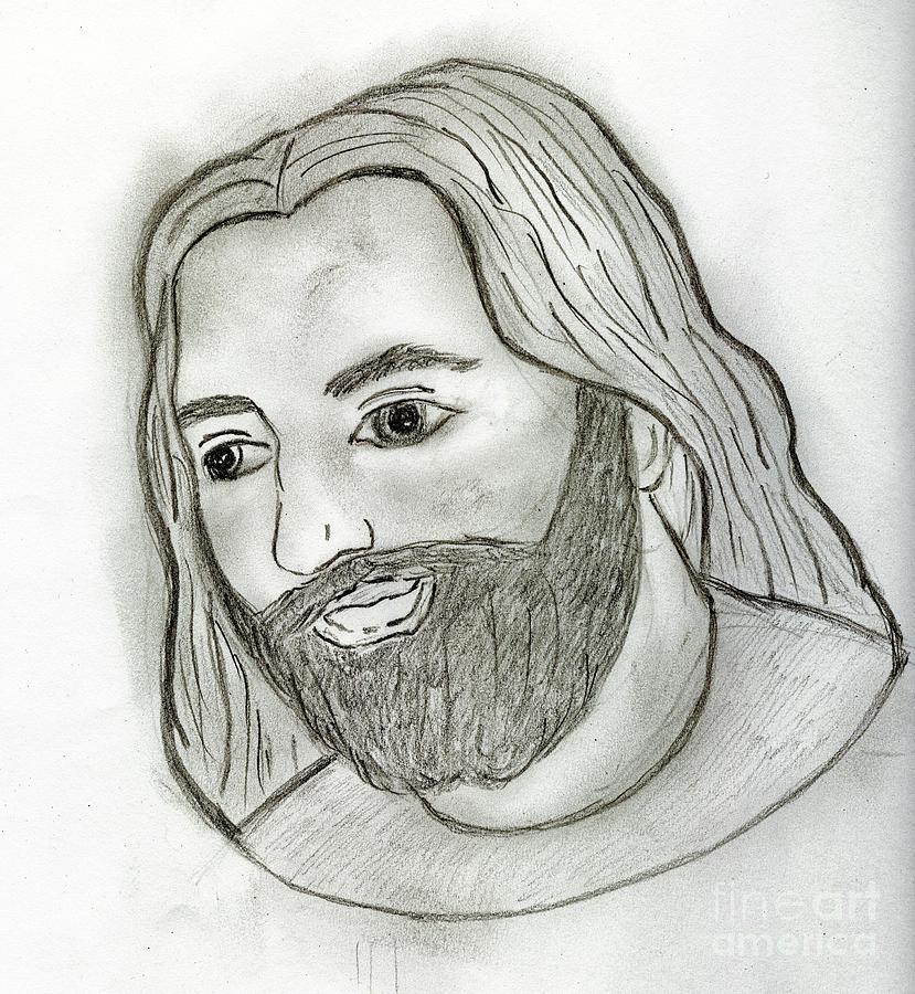 Mod Jesus Drawing