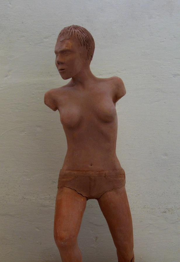 Model Female Nude.01 Ceramic Art