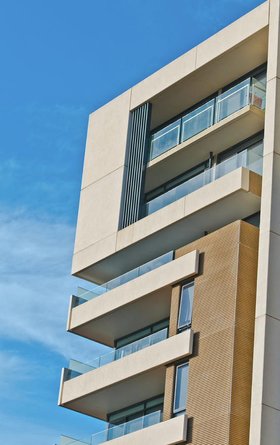 Modern Apartment Building Photograph By Paul Donohoe