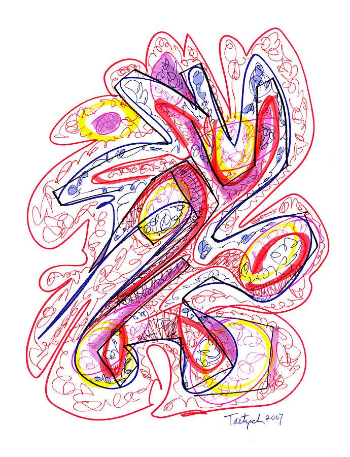 Modern Drawing 129 Drawing