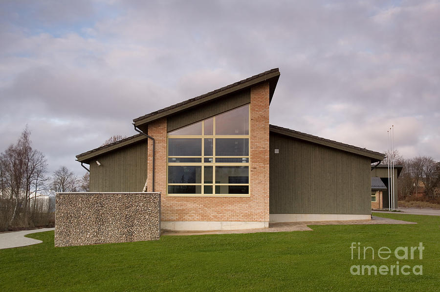 Modern Nursing Home Exterior Photograph By Jaak Nilson: nursing home architecture