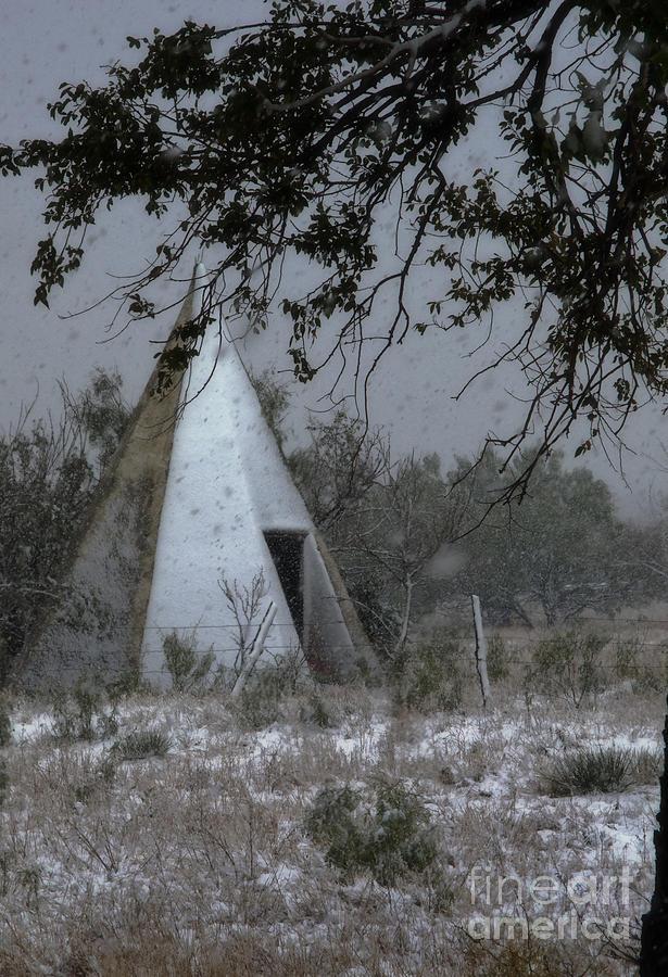 Modern Tepee Photograph