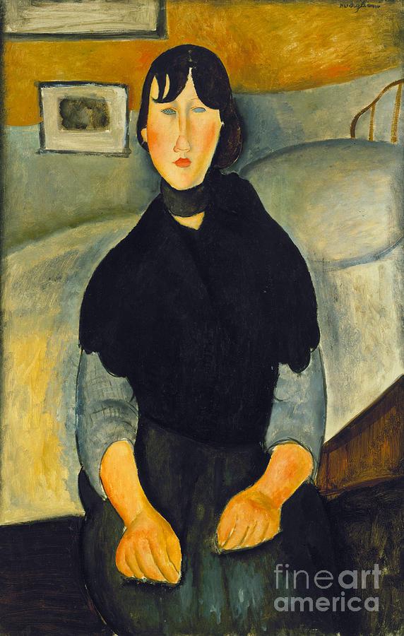 Modigliani: Woman, 1918 Photograph