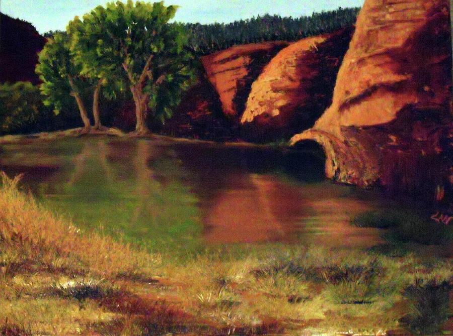 Mogollon Rim Az Pond Cheryln1955 By Cheryl Newbanks