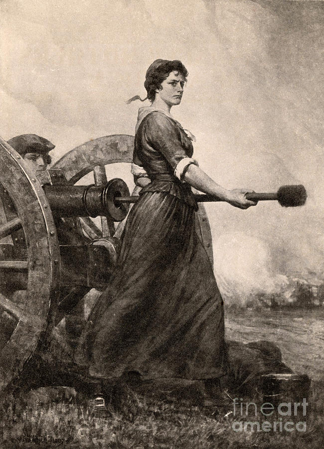 How To Draw Molly Pitcher
