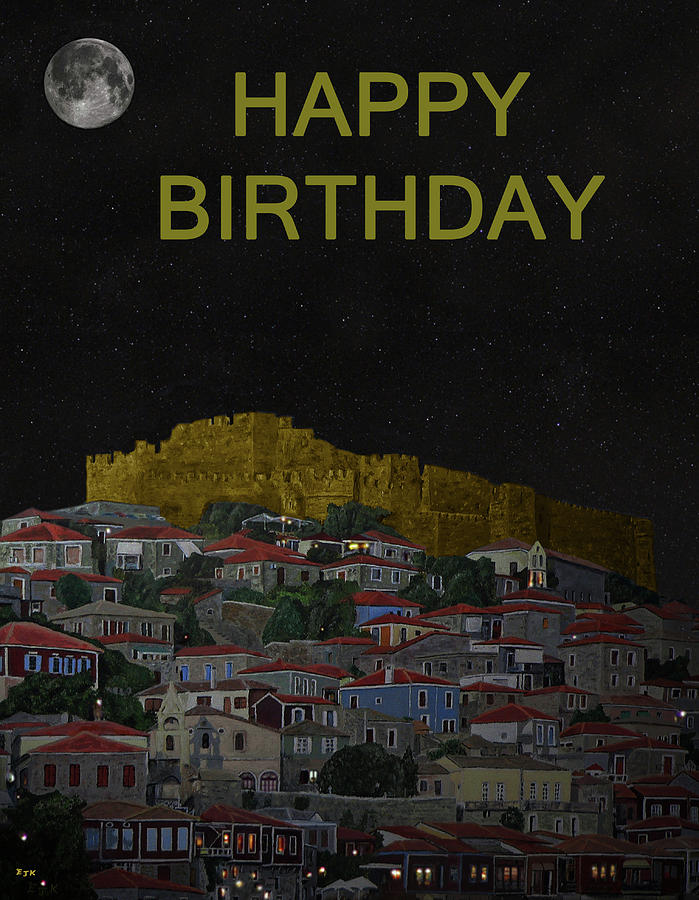 how to write happy birthday in greek