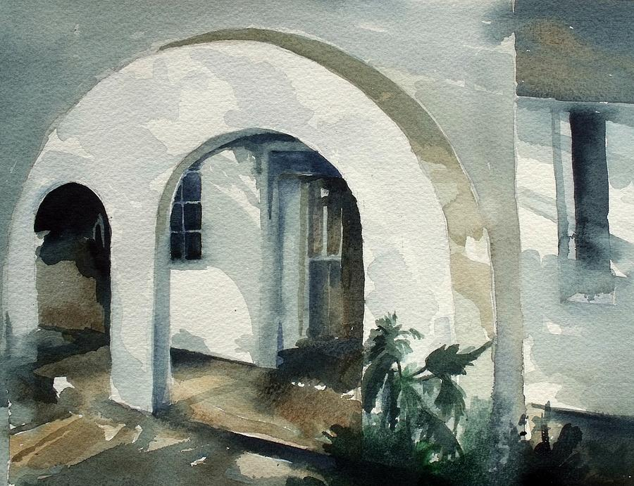 Mombasa Archway Painting