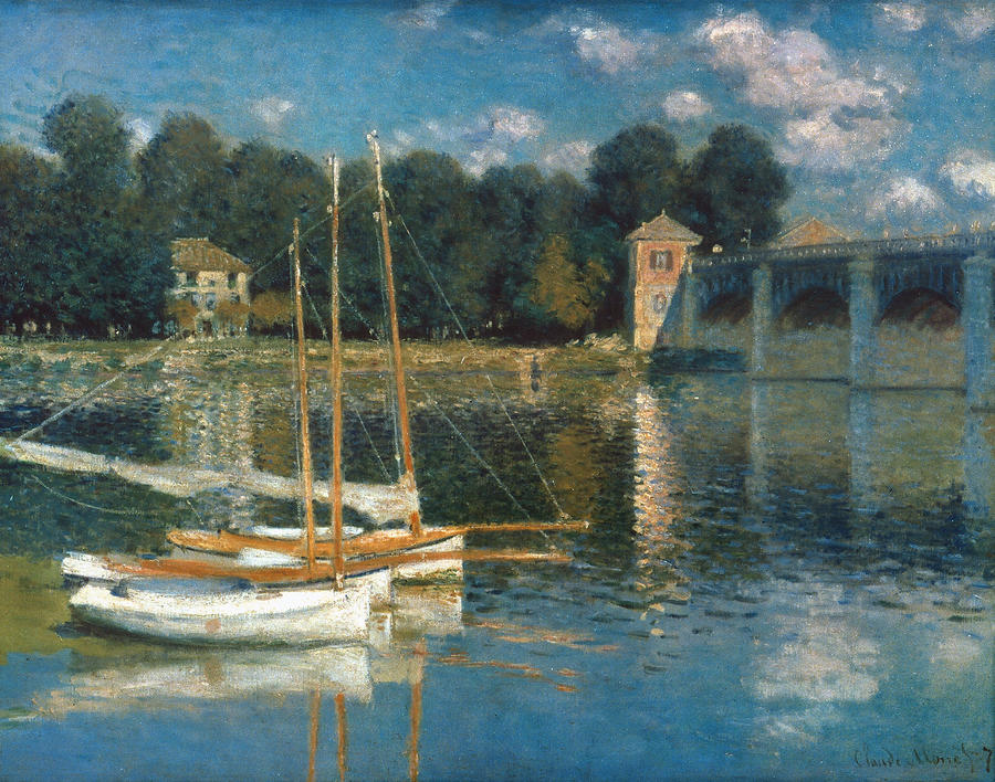 Monet: Argenteuil Photograph