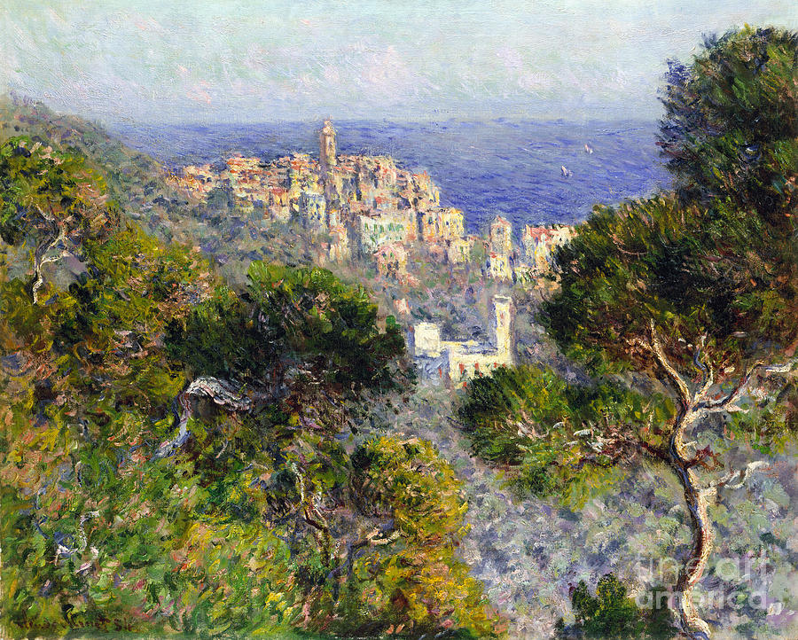 Monet: Bordighera, 1884 Photograph  - Monet: Bordighera, 1884 Fine Art Print