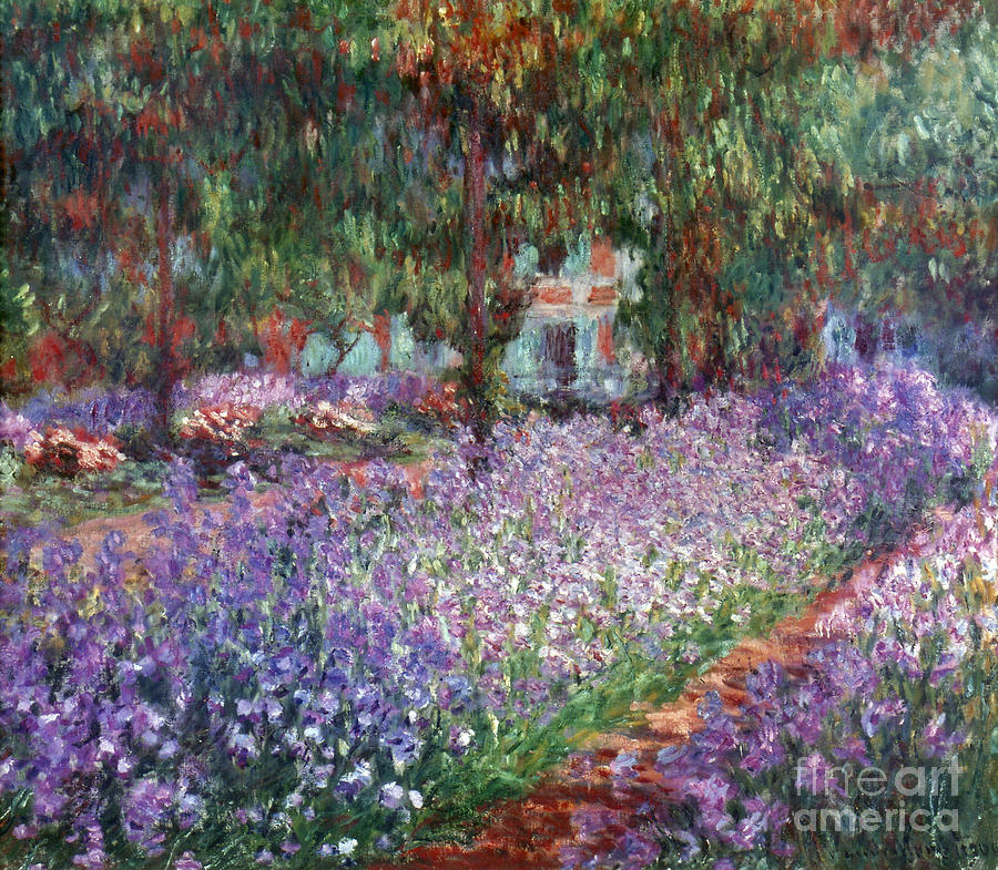 Monet: Giverny, 1900 Photograph  - Monet: Giverny, 1900 Fine Art Print