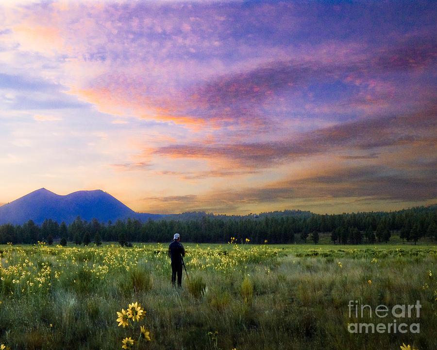 Arizona Photograph - Monet Morning by Arne Hansen