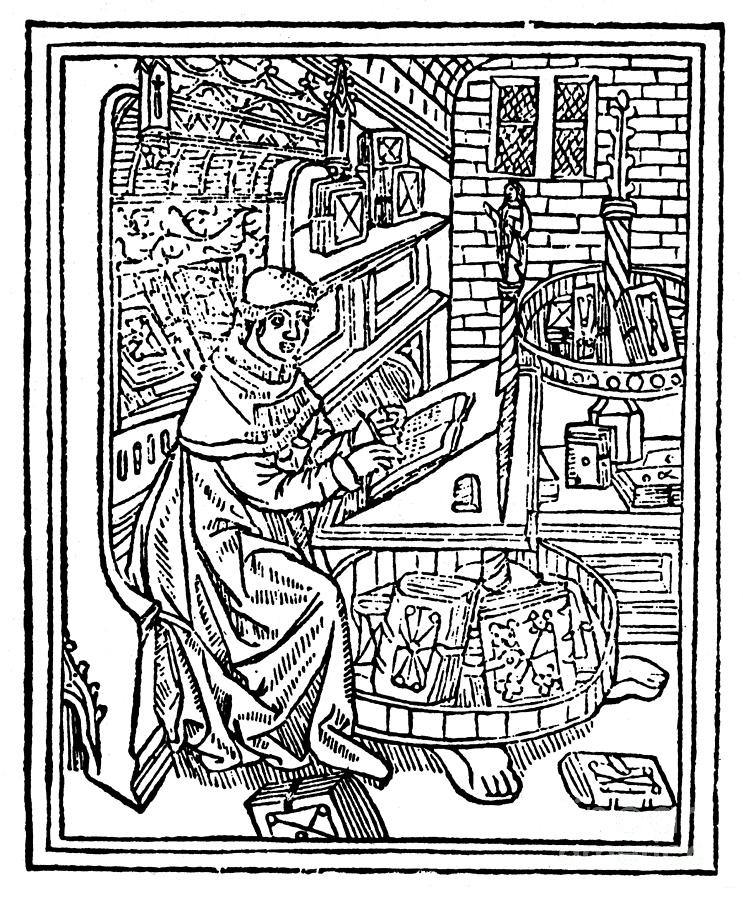 Monk: Scribe, 1488-89 Photograph