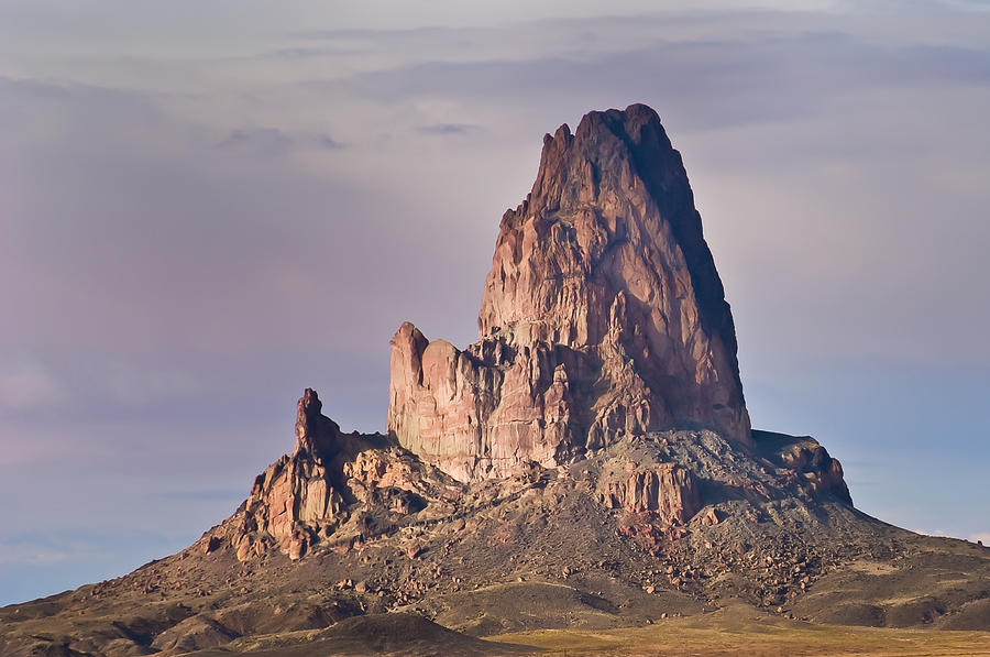 Volcanic Photograph - Monolith by Mike Hendren