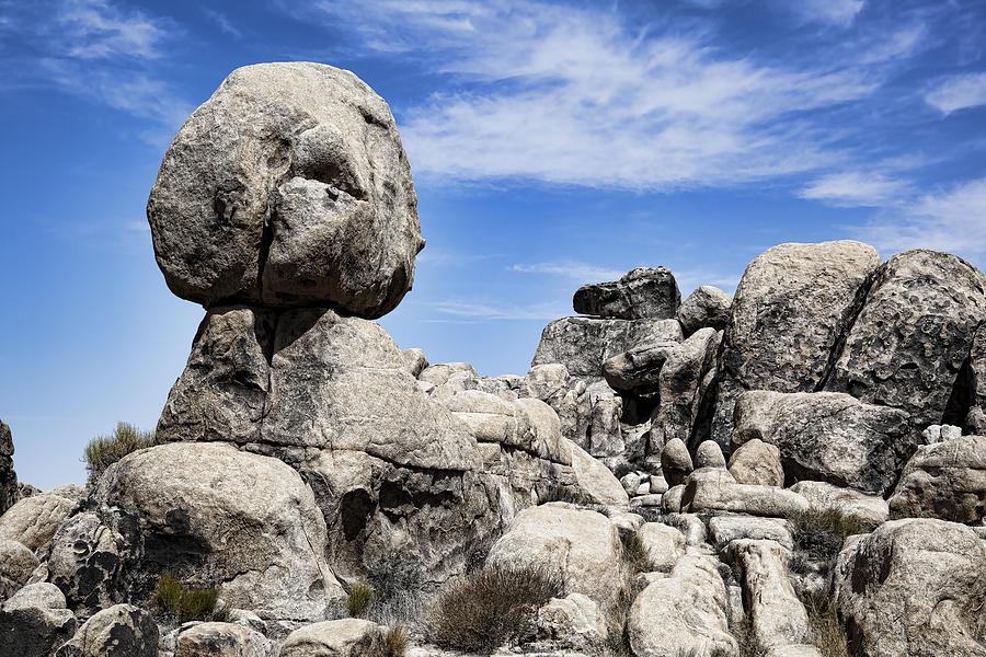 Monolithic Stone Photograph
