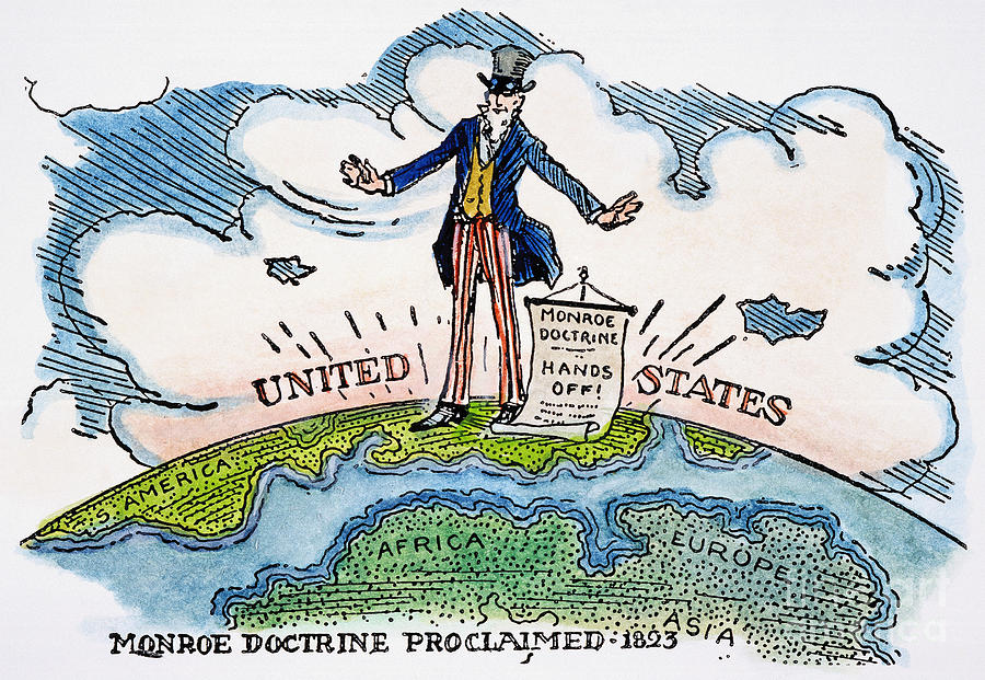 the impact of the monroe doctrine on the course of american history written by james monroe Monroe doctrine: monroe doctrine, policy enunciated by pres james monroe in 1823 that established an isolationist approach to foreign policy for  american history.