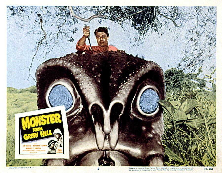 Monster From Green Hell, Jim Davis, 1957 Photograph