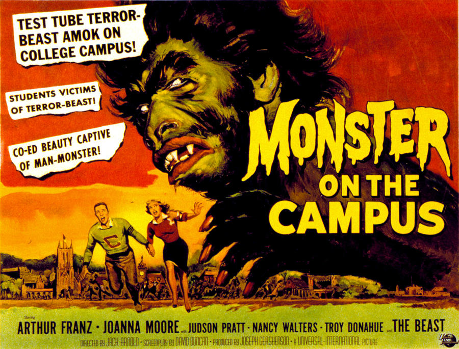 Monster On The Campus, Arthur Franz Photograph