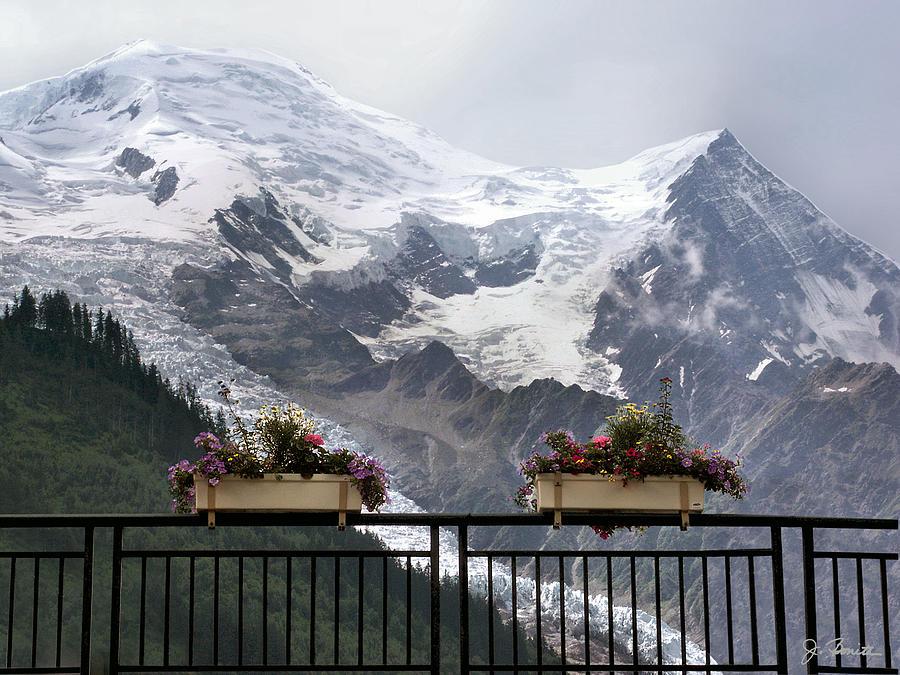 France Photograph - Mont Blanc by Joe Bonita