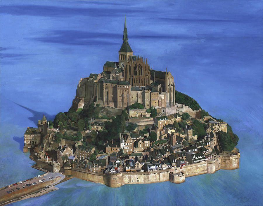 mont michel by philippe plouchart