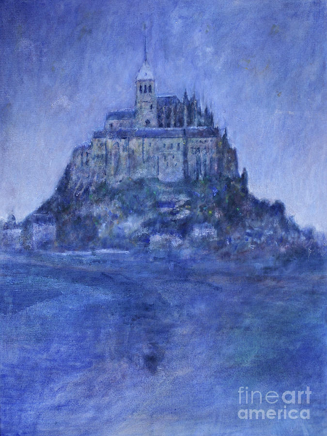 Mont St Michel Painting