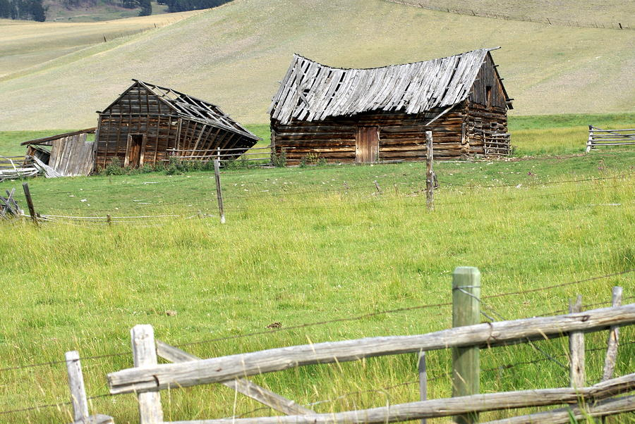 Montana Ranch Photograph