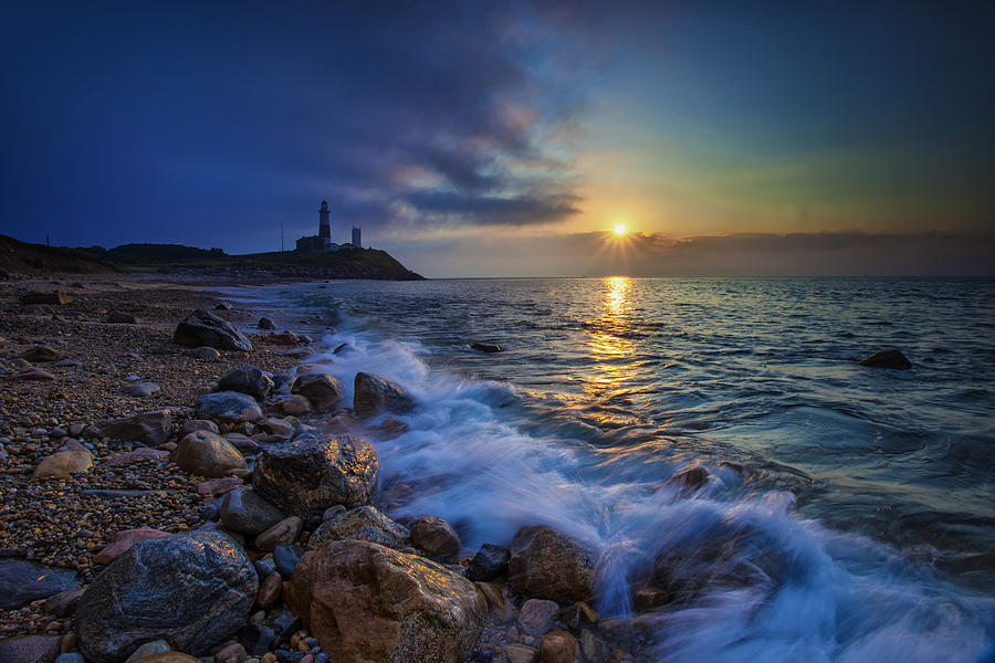 Montauk Sunrise Photograph  - Montauk Sunrise Fine Art Print