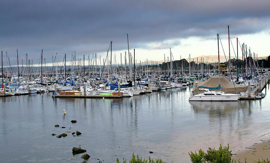 Monterey Harbor - California Photograph  - Monterey Harbor - California Fine Art Print