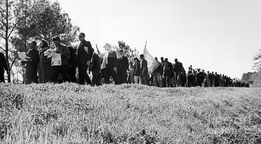 Montgomery March, 1965 Photograph