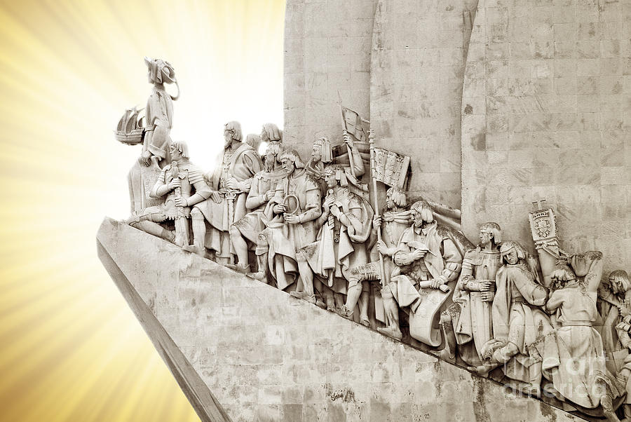 Monument To Discoveries Photograph  - Monument To Discoveries Fine Art Print