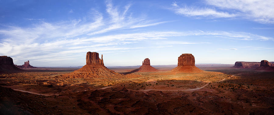Monument Valley Panorama Photograph