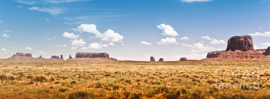 Monument Valley Wide Angle Photograph  - Monument Valley Wide Angle Fine Art Print