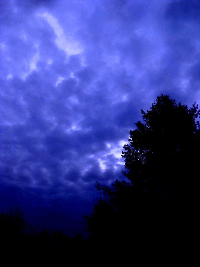 Mood Of Blue Spirit Photograph