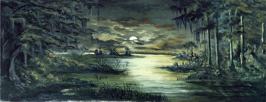 Moon River is a painting by Rita Smith which was uploaded on October ...