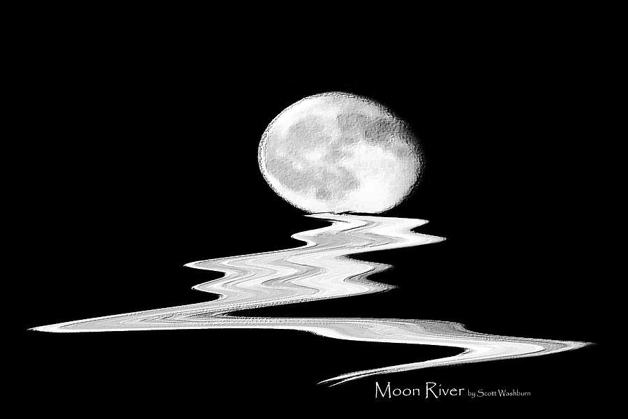 Moon River by Scott Washburn