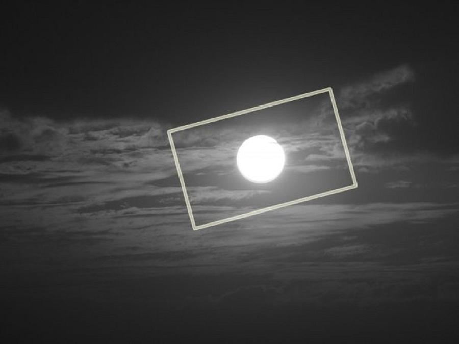 Moon Square Digital Art