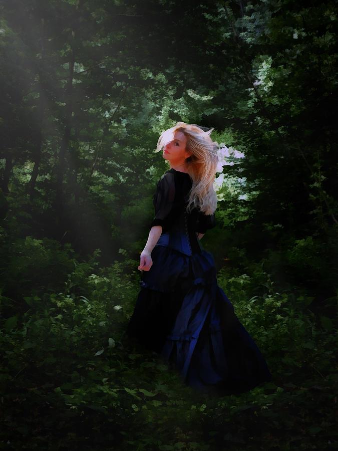 Moonlight Calls Me Digital Art