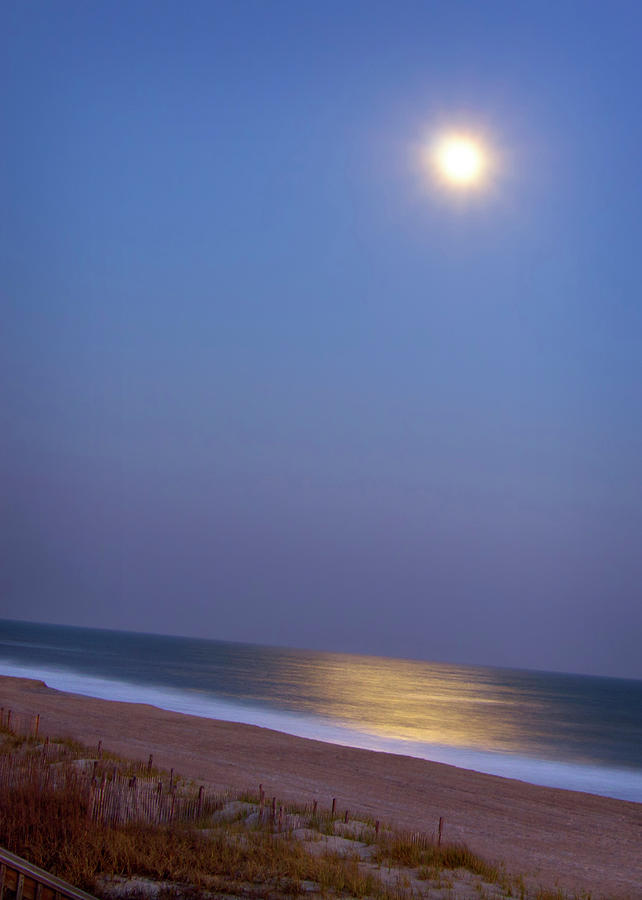 Moonlight On Ocean Photograph  - Moonlight On Ocean Fine Art Print